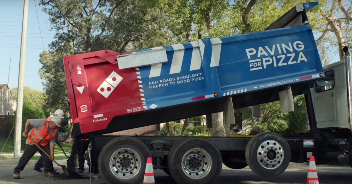 Domino's Is Going On A Pothole-Filling Mission In The USA