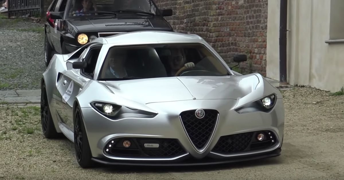 Get An Up-Close Look At This Coachbuilt Alfa Romeo 4C Reimagination