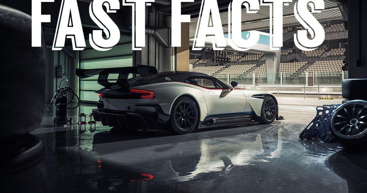 Fast Facts Aston Martin Vulcan