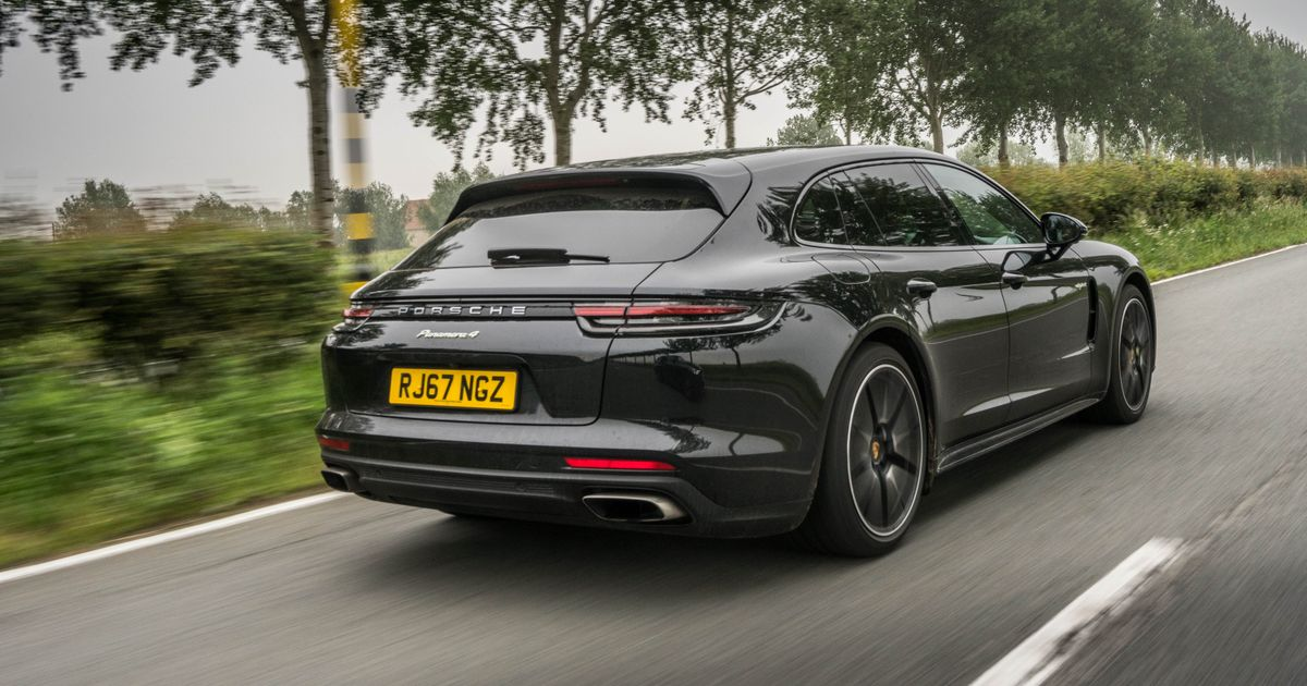 Porsche Panamera Sport Turismo Review: The Wagon Hero That Shouldn t Exist