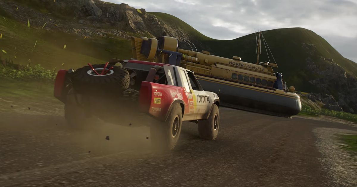 It's Official: Forza Horizon 4 Is Set In Britain, Roadworks Included