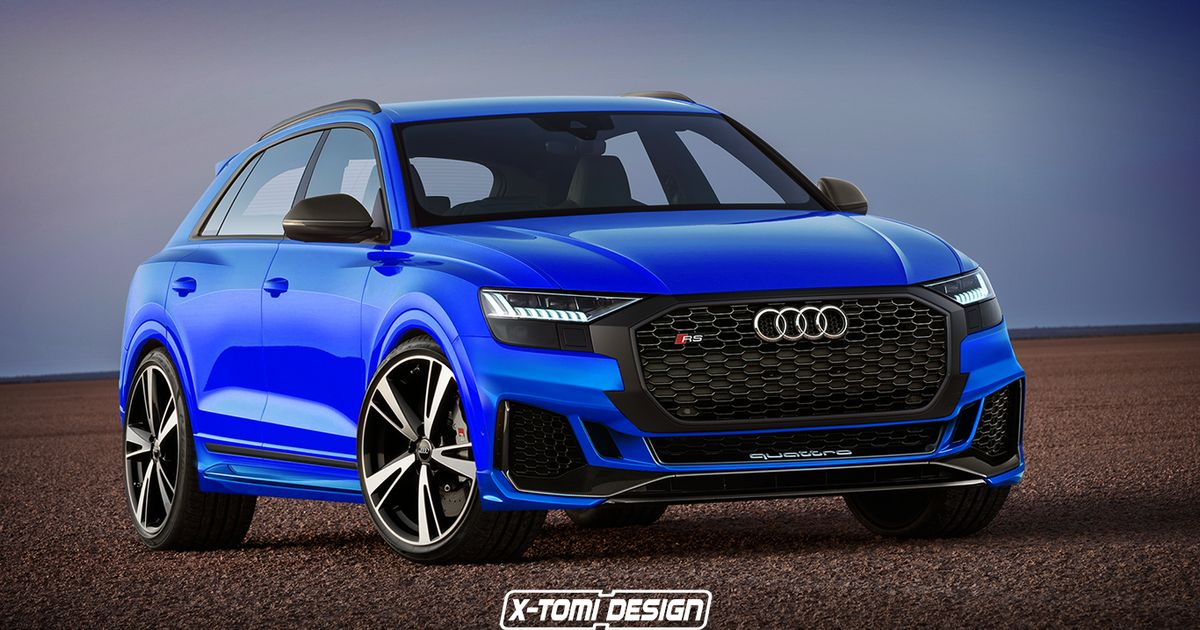 This Rendered Audi Rsq8 Is A Hot Suv That X27 Ll Haunt Your Nightmares