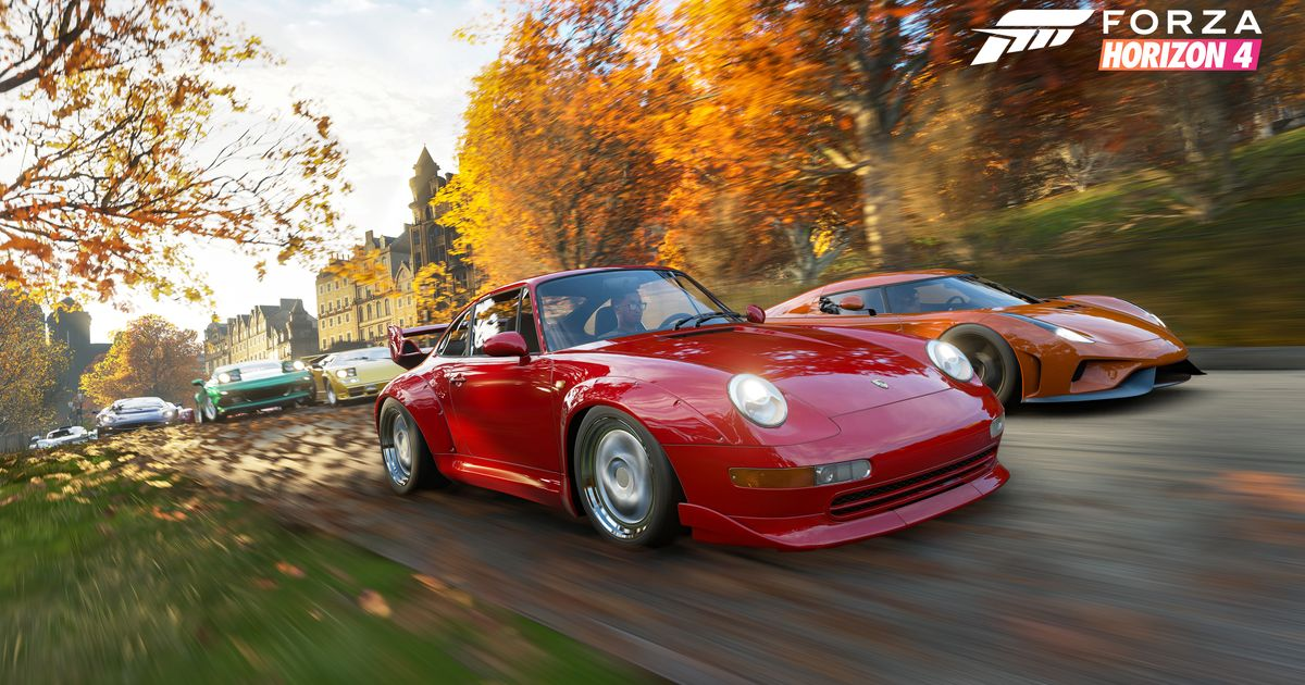 Forza Horizon 4 S Huge Car List Has Been Revealed By Accident