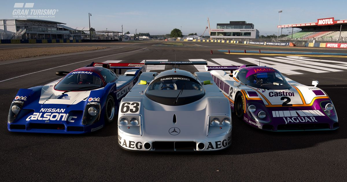 le mans is back in the latest gran turismo sport update. Black Bedroom Furniture Sets. Home Design Ideas