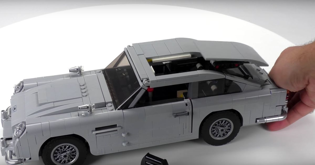 James Bond's DB5 Is Now A Lego Set, Gadgets Included