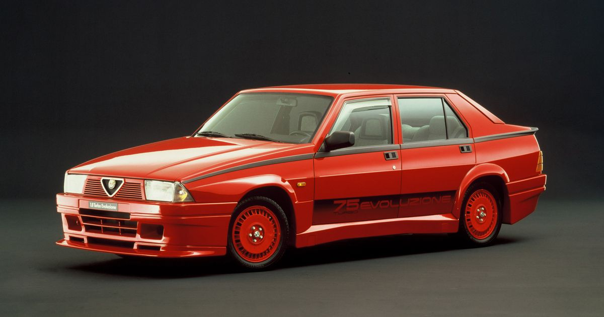 The 75 Turbo Evoluzione Is The King Of Alfa Romeo's Nearly-Cars