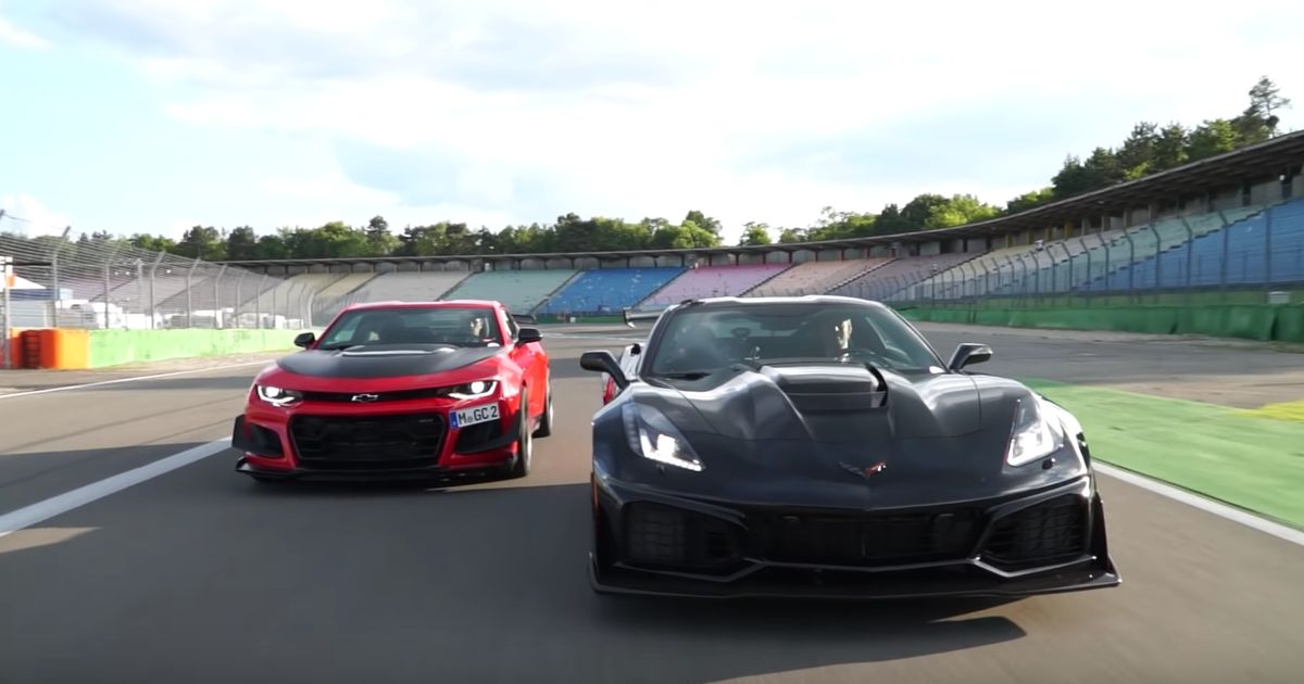It's A Chevrolet Camaro ZL1 1LE Vs Corvette ZR1 Track Face-Off!