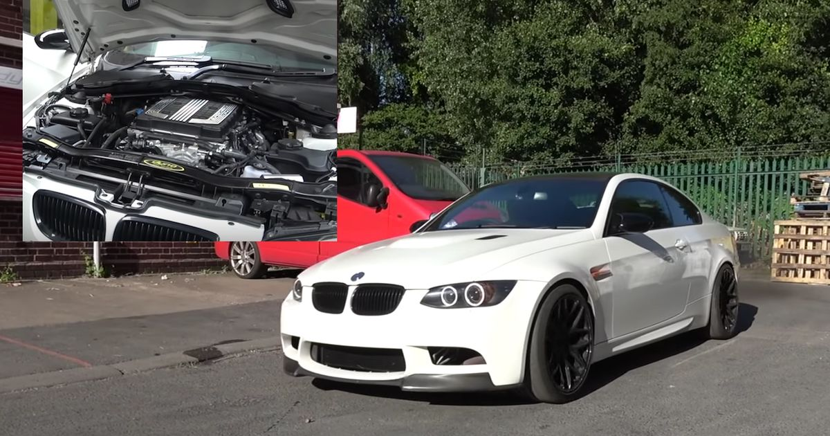 This E92 M3 Has Been Given A Corvette Z06 V8 And We're Not Even Mad