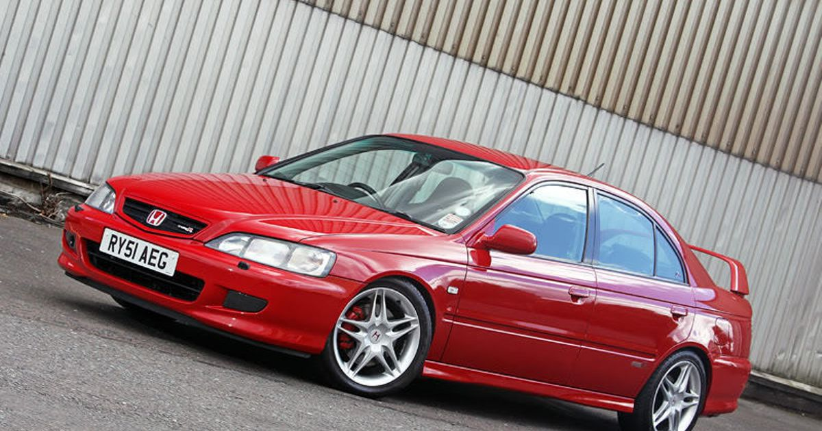 Honda Accord Type R A Type R For The Whole Family
