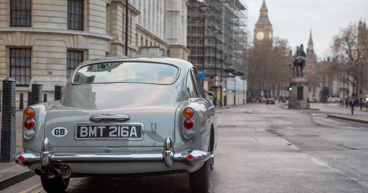 £3.3m Buys You A Non-Road-Legal, Gadget-Laden Goldfinger Aston DB5