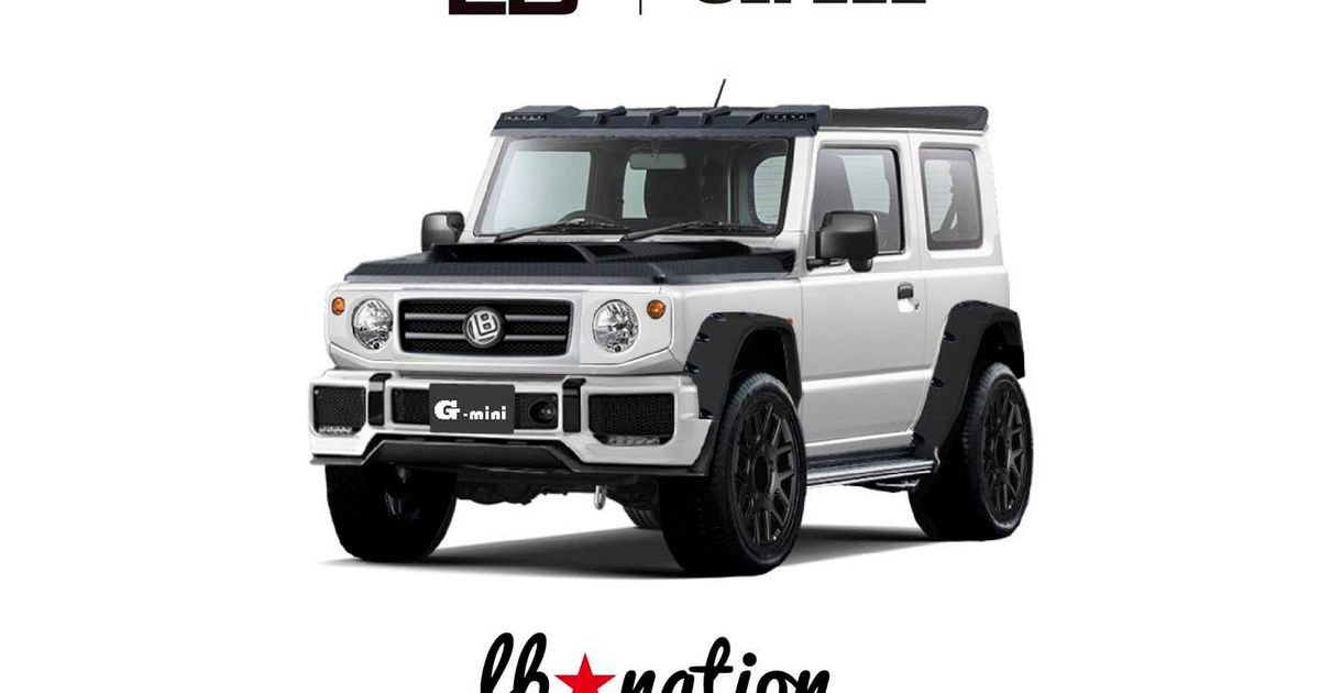 Here's What Liberty Walk Is Going To Do To The New Suzuki Jimny