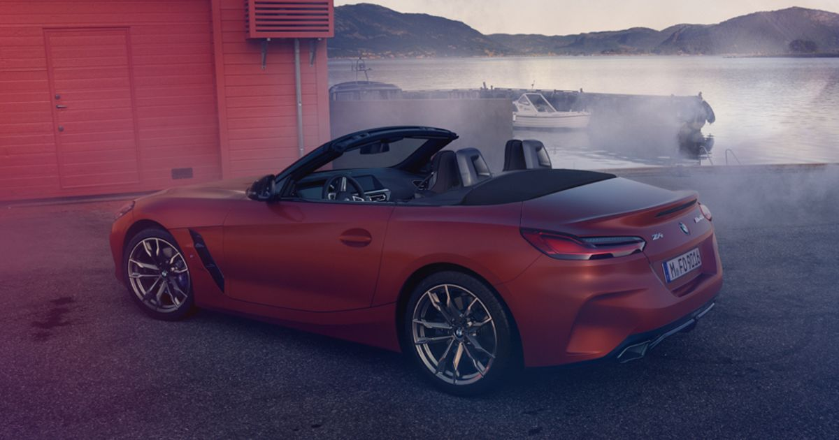 There s Been An Even Bigger 2019 BMW Z4 Image Leak
