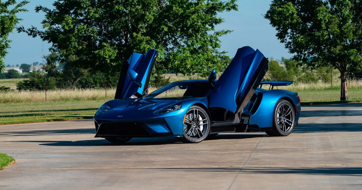 John Cenas Ford Gt Is About To Be Sold For The Fourth Time