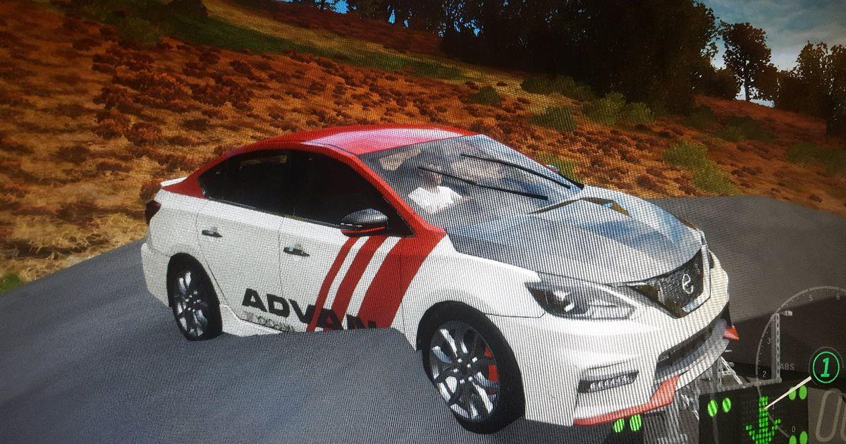 Forza Horizon 4 Nissan Sentra NISMO glitch