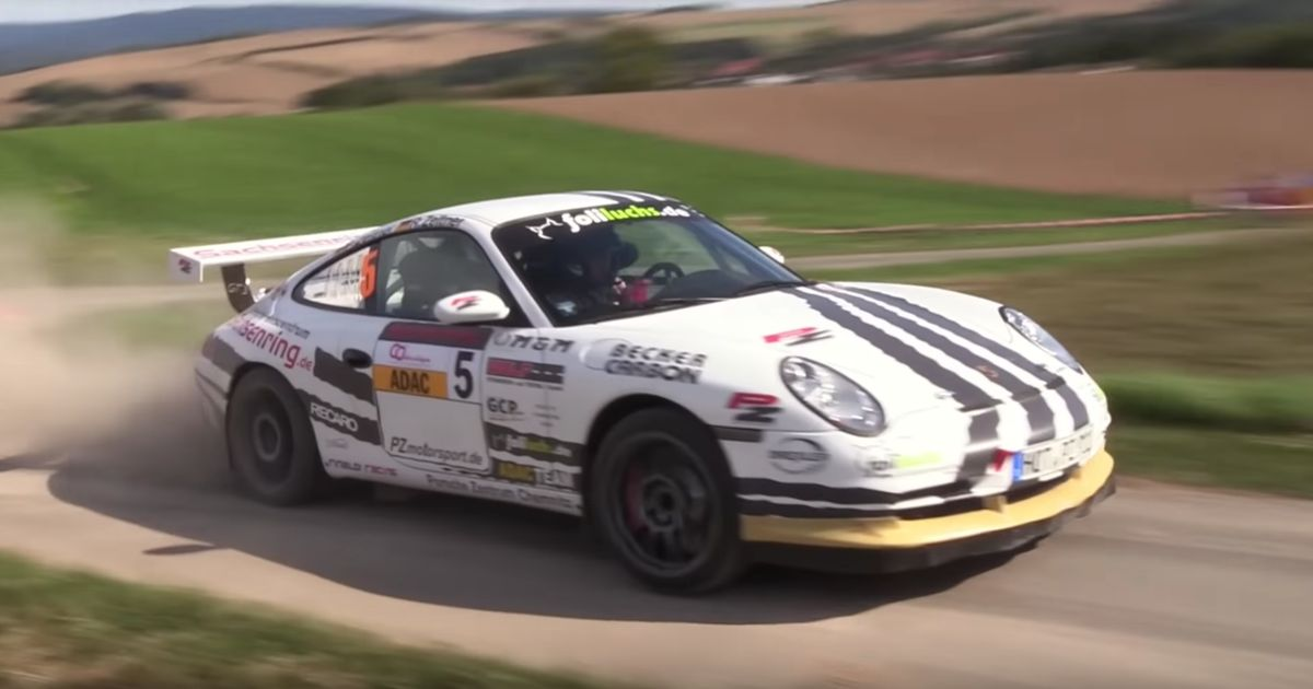 Your Ears Deserve To Hear This Porsche 911 Gt3 Rally Car
