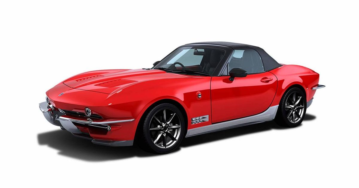Mitsuoka Has Made An MX-5-Based Mini Corvette And We Want It