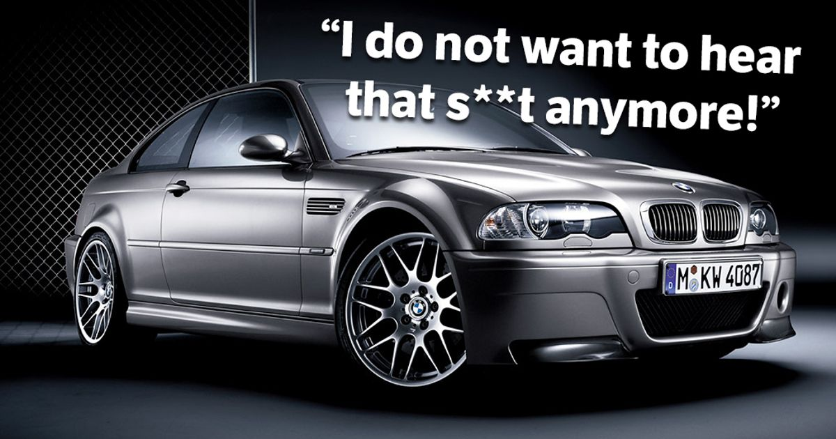 BMW's Development Boss Is Tired Of E46 CSL 'Last Real 3-Series' Claims
