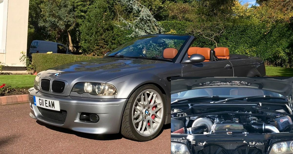 25k Buys You A 570bhp 2jz Engined E46 Bmw M3