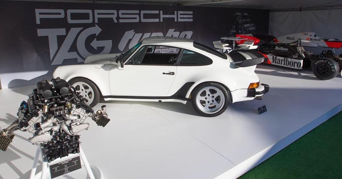 A Run Of Porsche 911s With TAG-Porsche F1 Engines Is On The Way