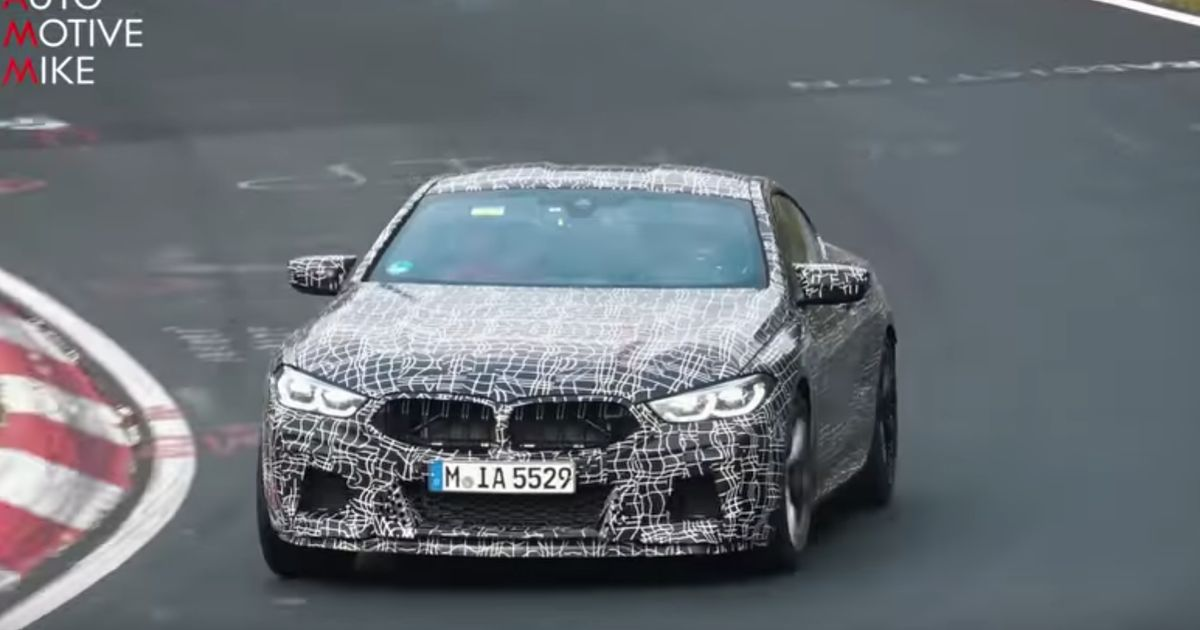 Watch The Incoming BMW M8 Fill The 'Ring With Its Curious V8 Noise