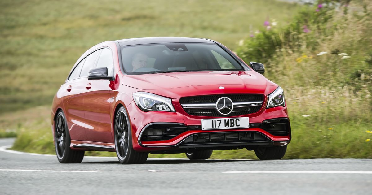 Mercedes Is Planning A 400bhp+ CLA Shooting Brake