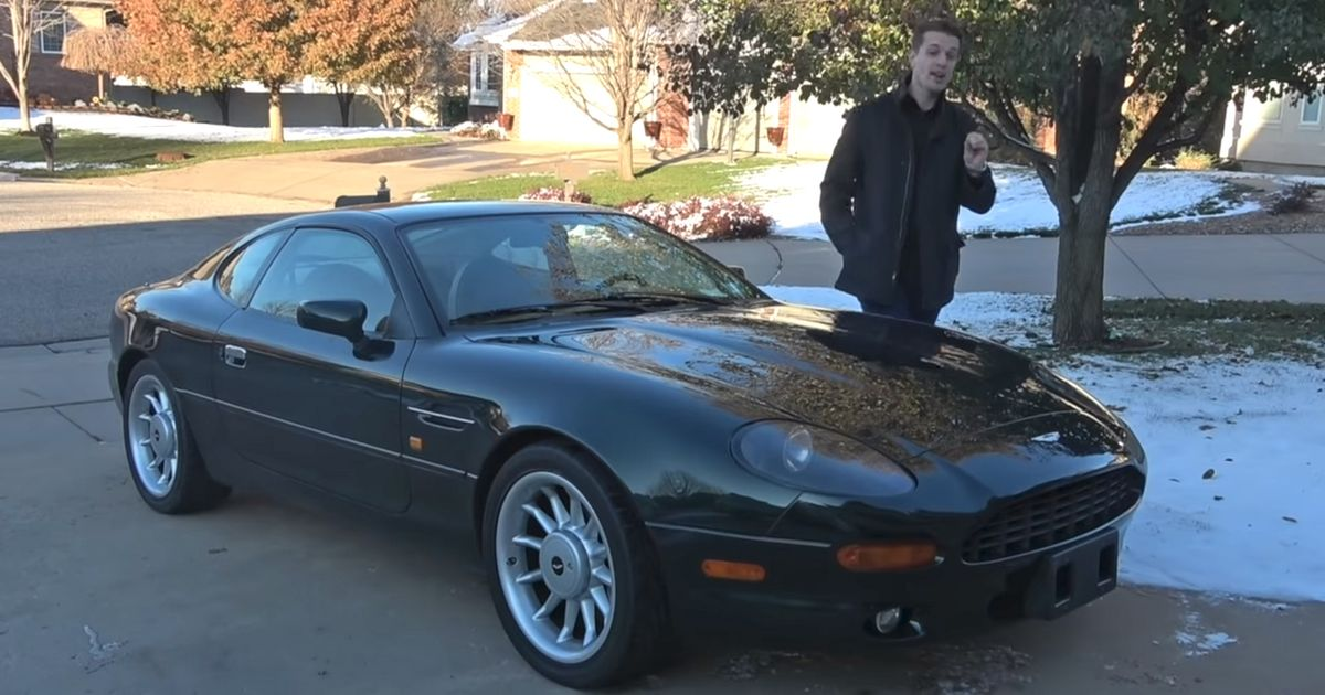 Buying A Trouble-Free $25k Aston Martin DB7 Is Too Good To Be True