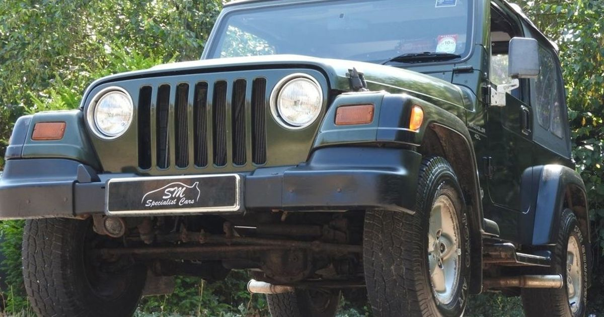 A £4500 Jeep Wrangler Will Take You Anywhere If Rust Doesn't Kill It First