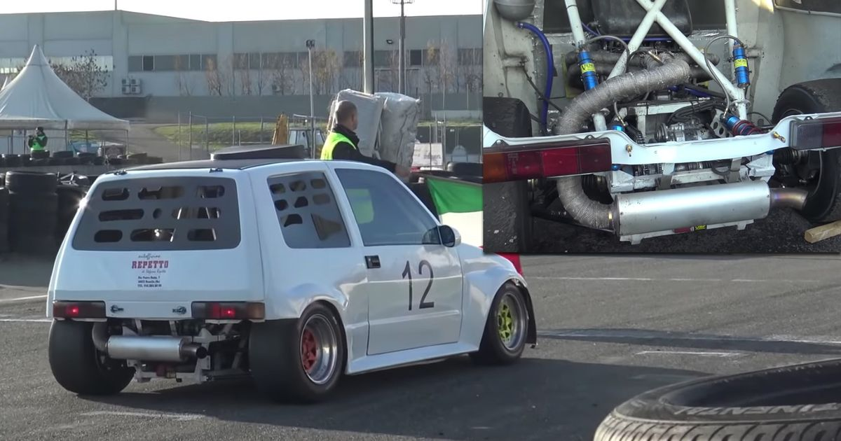 You Can t Help But Love A Fiat Cinquecento With A 1400cc Superbike Engine