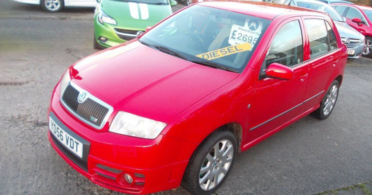 Remind Yourself That Diesel Skodas Can Be Fun With A £2700 Fabia vRS