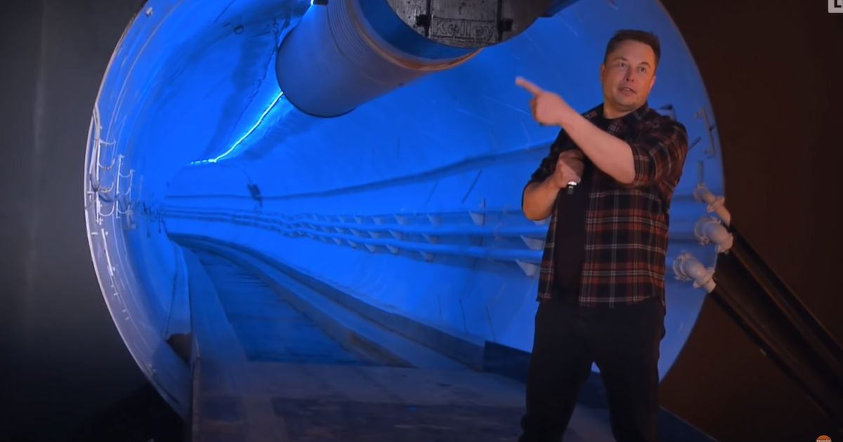 Here s Why Elon Musk's Bizarre 155mph Tunnel Is Pointless