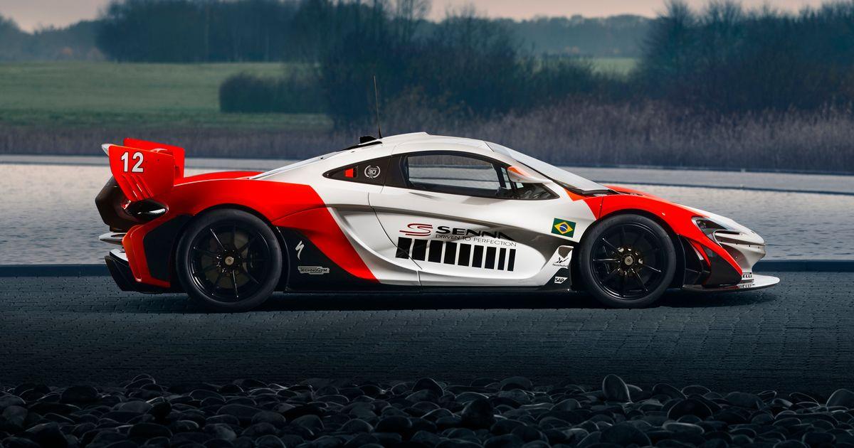 Behold This McLaren P1 GTR's Breathtaking Tribute To Ayrton Senna