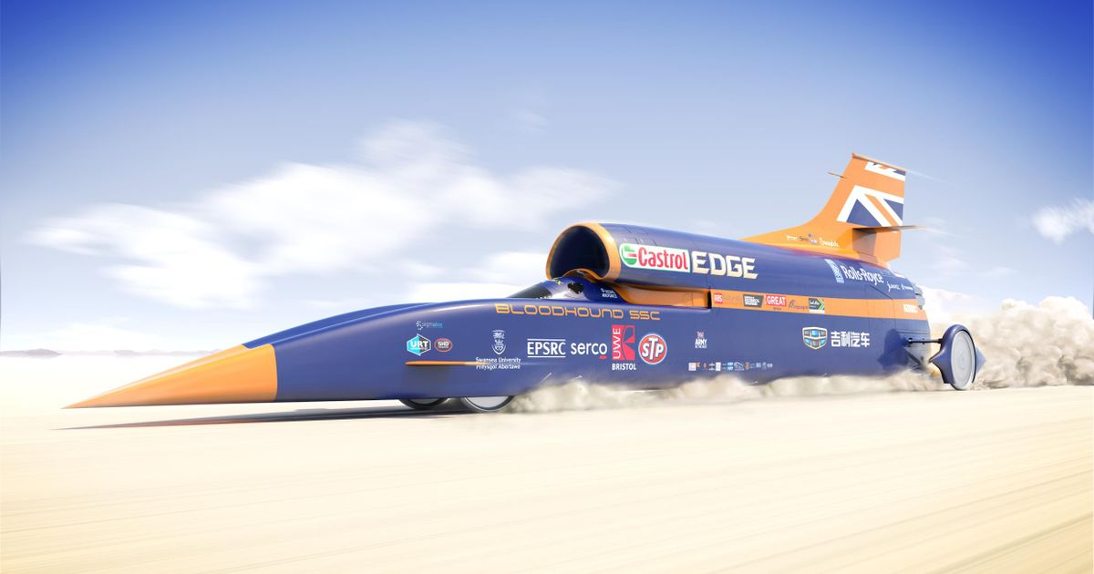 The Bloodhound 1000mph Project Is Officially Dead