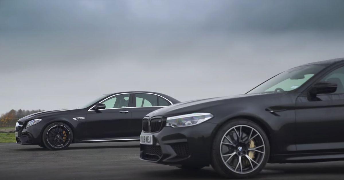 Can A Competition Pack Help The BMW M5 Beat A Mercedes-AMG E63 S?