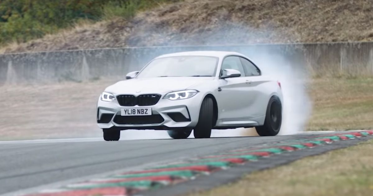 Watch Chris Harris Give The New BMW M2 Competition A Thorough Thrash
