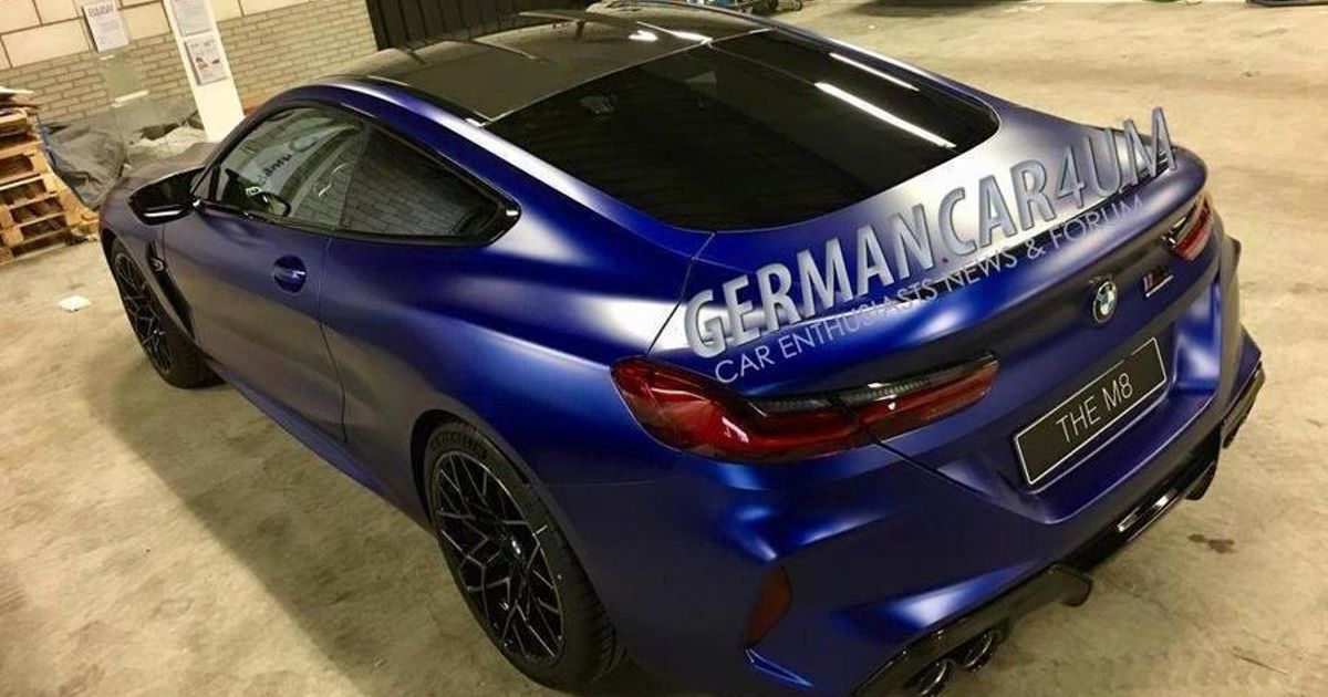 The BMW M8 Is Here Very Early Thanks To An Image Leak