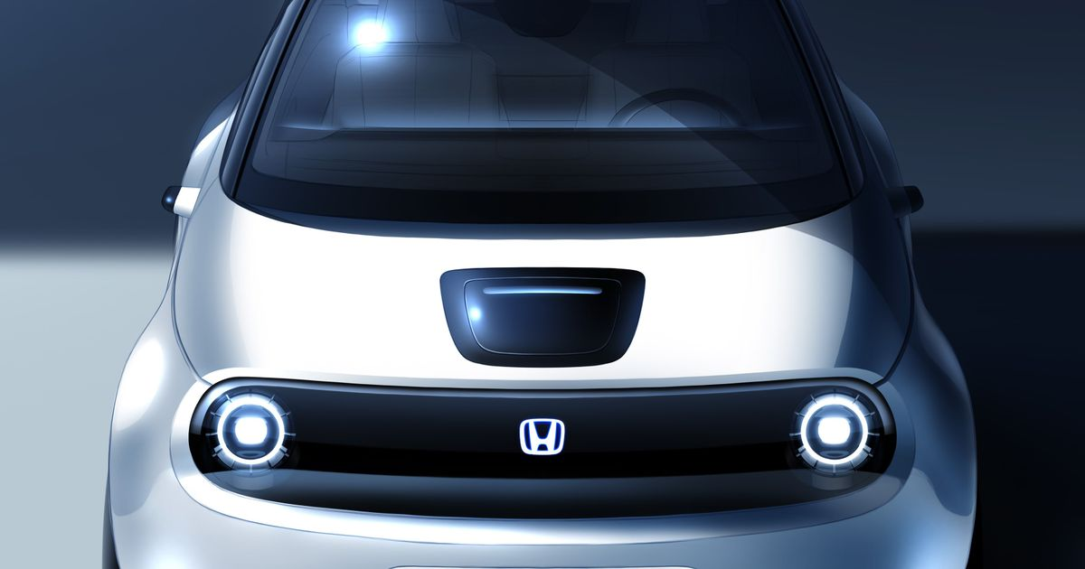 This Is Our First Look At The Production Honda Urban EV