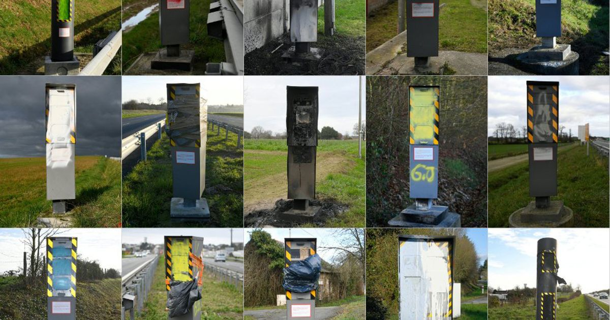 Protesters Have Disabled 60% Of France's Speed Camera Network