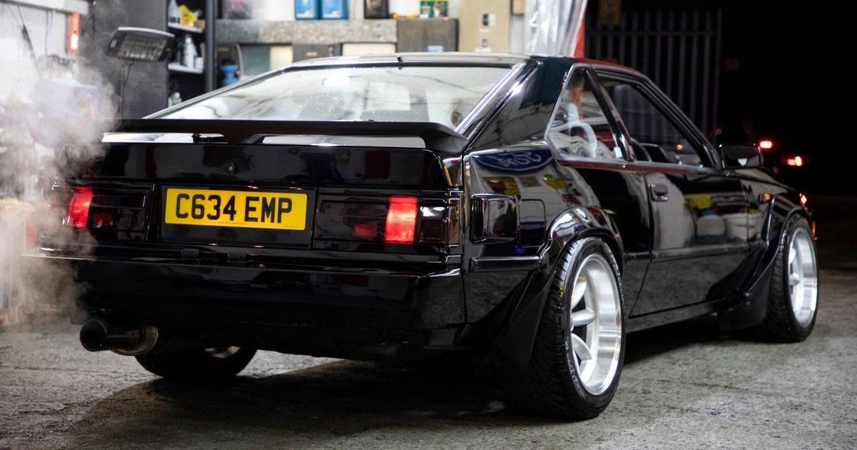 We Need This Lexus V8-Swapped Toyota Celica Supra, Immediately