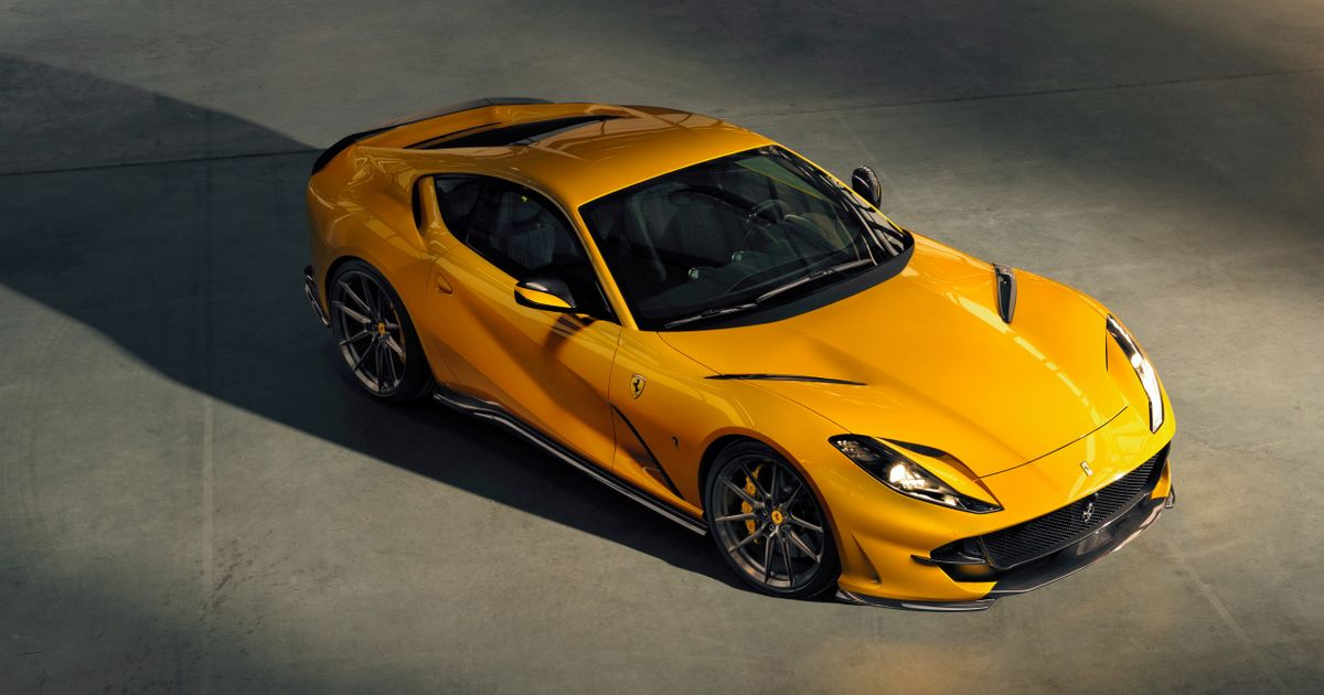 Tuner Novitec Has Unleashed The Ferrari 812 Superfast s  Angry Face