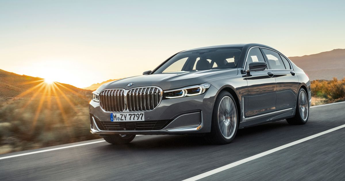 Yes, The New BMW 7-Series Really Does Have A Grille This Big