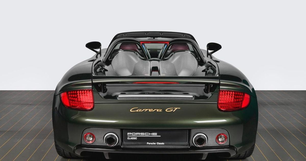 Porsche Has Rebuilt A Carrera GT From Scratch