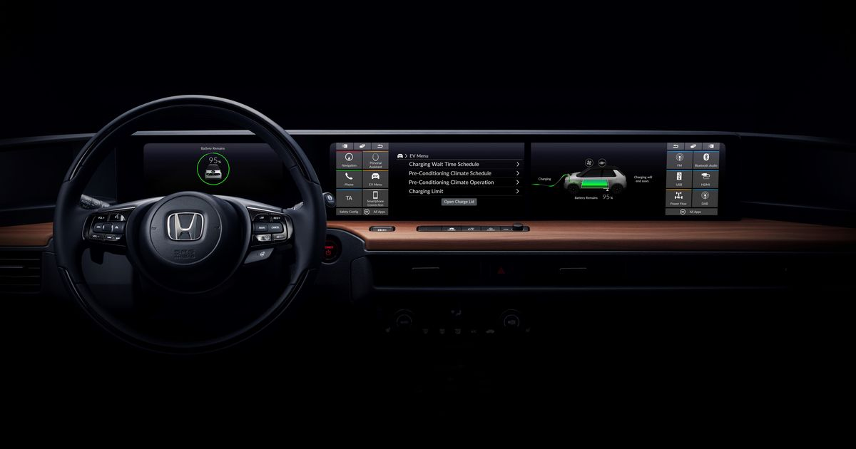 Here s Your First Look At The Honda  Urban EV  Interior