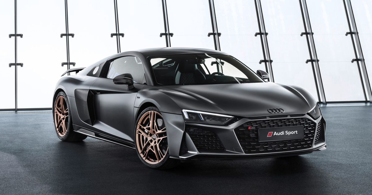 Celebrate 10 Years Of V10 Awesomeness With The Audi R8 Decennium