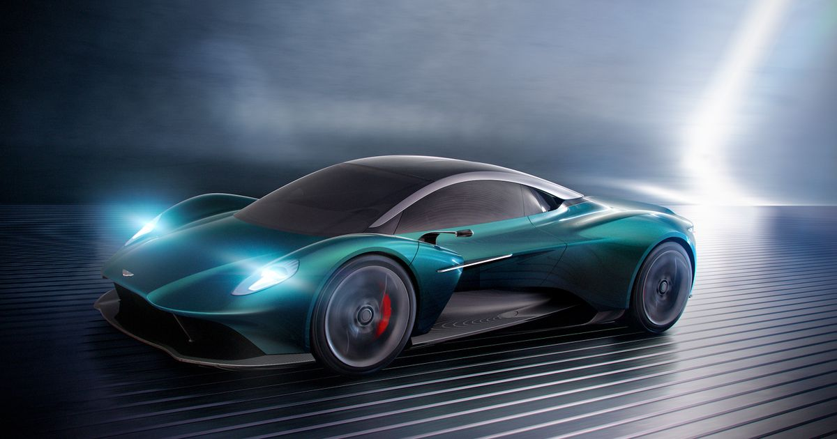 huge discount c8122 b327d The Aston Martin Vanquish Vision Is The 720S Rival You Didn t Expect