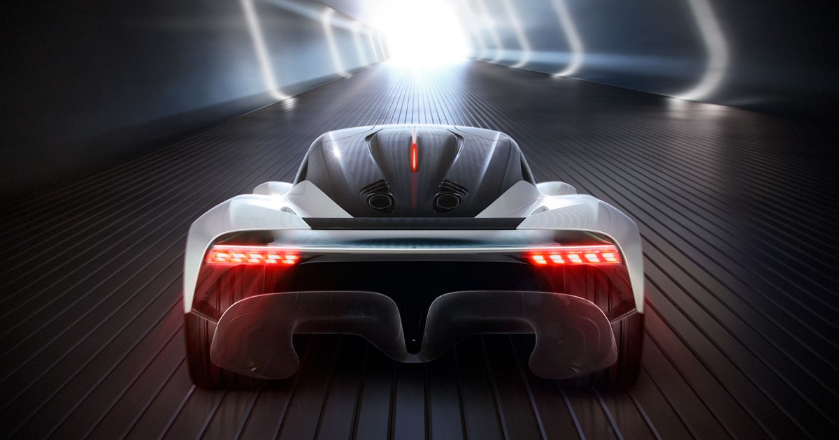 The Aston Martin AM-RB 003 Is A Hypercar With Nasa-Approved Aero