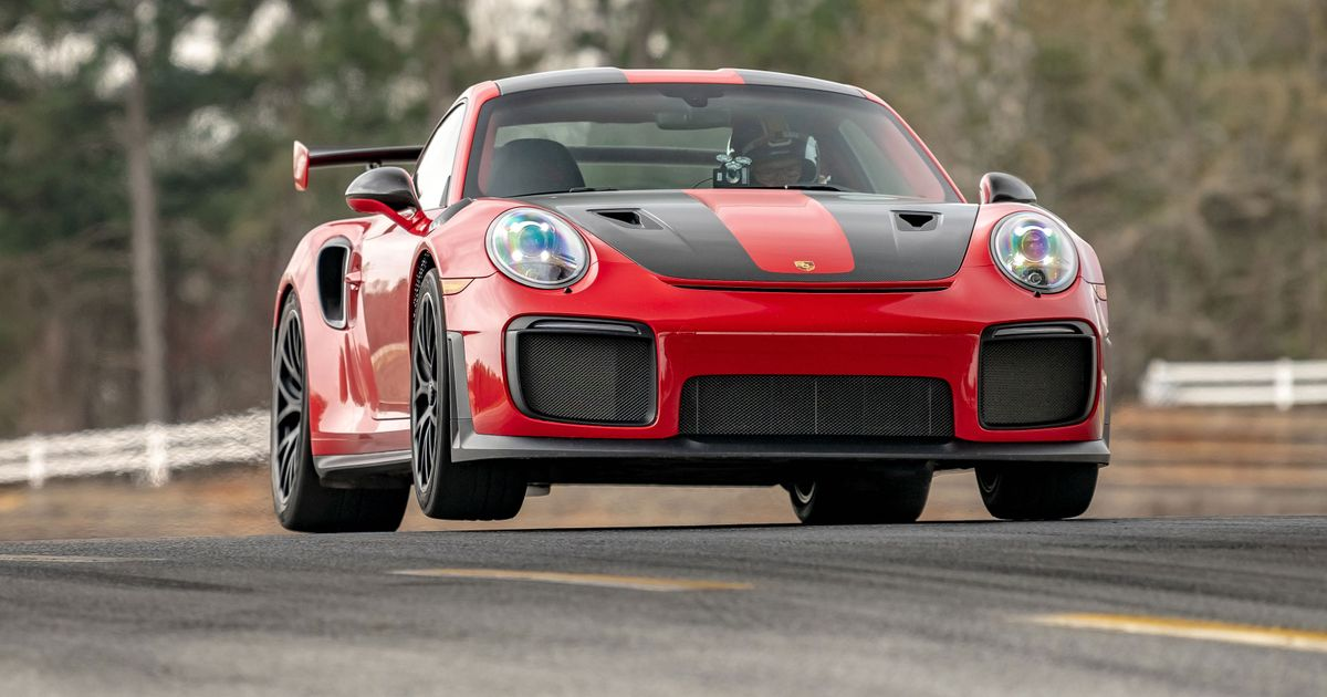 Porsche Broke Road Atlanta s Production Lap Record With Two Different Cars
