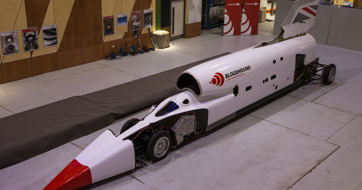 The Revived 1000mph Bloodhound Project Has Emerged With A New Look