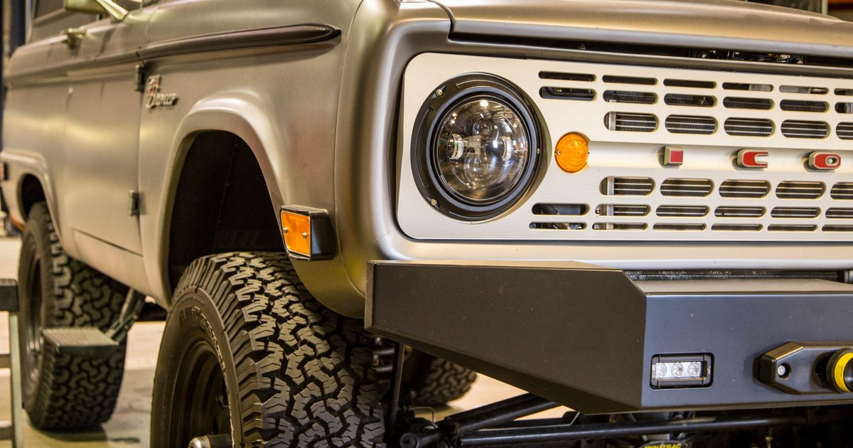 Icon: Where Broncos, FJ40s And More Go To Be Reborn