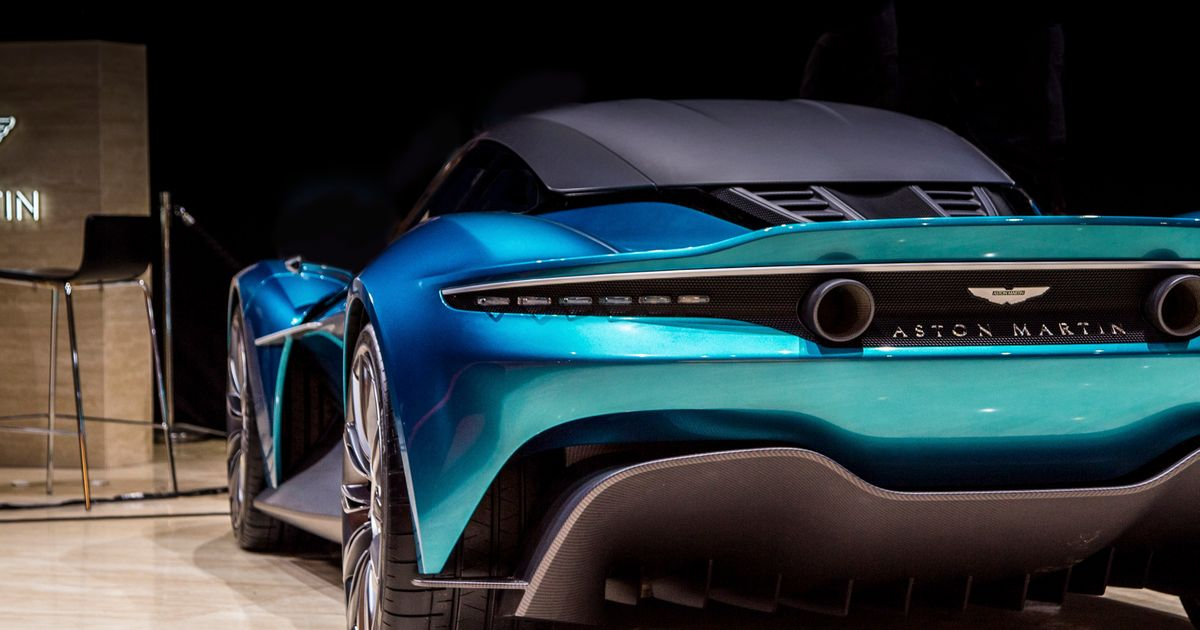 Why Aston Martin s Mid-Engined Vanquish Is The Car The Name Deserves