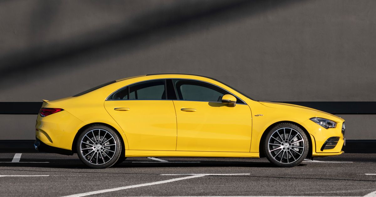 The Mercedes-AMG CLA 35 Is A Niche-Busting, 302bhp  Coupe